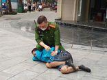 Hà Nội: Công an quật ngã đối tượng