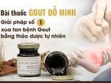 Y tế - Bệnh gout là gì? Đỗ Minh Đường - Địa chỉ uy tín chữa gút bằng thảo dược sạch