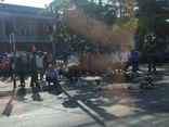 Vụ người phụ nữ bị tông chết khi dừng đèn đỏ: Truy tìm tài xế ô tô gây tai nạn rồi bỏ chạy