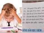 Màn phiên âm tiếng Anh sang tiếng Việt