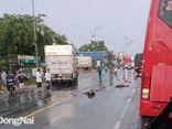 Tin tức tai nạn giao thông 23/4: Trên đường đi làm, đôi vợ chồng bị ô tô tông tử vong