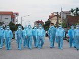 Thêm 2 ca dương tính lần 1 với SARS-CoV-2, Hà Nam phong tỏa hàng trăm hộ dân