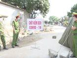 Hưng Yên phong tỏa khu phố có trường hợp nghi nhiễm COVID-19