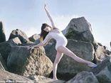 Mang thai 39 tuần tuổi, bà bầu vẫn say mê múa ballet