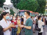 Chuyện học đường - 1500 thầy trò trường CĐ Y tế Bạch Mai cấp tốc lên đường trong đêm chi viện cho TP.HCM