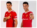 Hình ảnh đầu tiên của Ronaldo trong mẫu áo đấu MU ở mùa giải mới