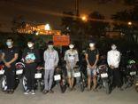Tạm giữ nhóm thanh thiếu niên đua xe trái phép trong đêm ở Đồng Nai