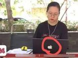 Nữ sinh lên sóng VTV dùng Macbook cực xịn, nhìn thấy màn hình thì dân tình đồng loạt cười ngất