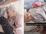 Cảm động khoảnh khắc mẹ 105 tuổi bật khóc khi gặp lại con gái 84 tuổi sau 4 tháng giãn cách