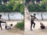 Tạm giữ nam sinh THPT dùng gậy ba khúc đánh người dã man ở Phú Thọ