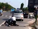 Tài xế taxi vật lộn với tên cướp ở Hà Nội tiết lộ về tin nhắn