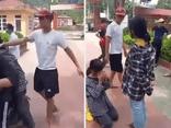 Vụ nữ sinh lớp 7 bị nam thanh niên tát, bắt quỳ xin lỗi giữa sân trường: Tiết lộ nguyên nhân