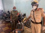 Màn truy đuổi kẻ cướp giật của CSGT như phim hành động giữa trung tâm TP.HCM
