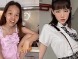 Hot Tiktoker Đồng Tháp tự bóc nhan sắc thật khiến dân tình