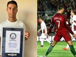 Ghi 111 bàn cho ĐT Bồ Đào Nha, Ronaldo nhận kỷ lục Guinness thứ 10
