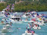 Video: Người ủng hộ thuê du thuyền, diễu hành vinh danh cựu Tổng thống Trump