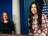 Được mời tới phát biểu tại Nhà Trắng, nữ ca sĩ gây