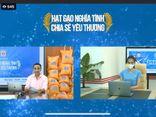 """MC Quyền Linh livestream phát động chương trình """"Hạt gạo nghĩa tình, chia sẻ yêu thương"""