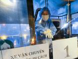 Hà Nội: Hơn 100 trường hợp F1 ở Bệnh viện Hữu Nghị Việt Đức được đưa đi cách ly trong đêm