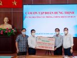 Tập đoàn Hưng Thịnh hỗ trợ khẩn hàng chục tỷ đồng cho TP.Hồ Chí Minh phòng, chống dịch Covid-19