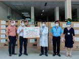 Tập đoàn Hưng Thịnh hỗ trợ trang thiết bị y tế với kinh phí gần 2 tỷ đồng cho bệnh viện Nhân dân 115 và Gia định