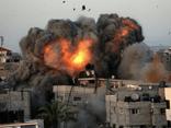 Israel điều 52 máy bay trút đòn không kích dữ dội xuống Dải Gaza