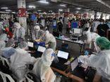 Số ca nhiễm COVID-19 trong ngày tại Thái Lan tăng vọt kỷ lục