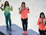Nữ VĐV Momiji Nishiya đi vào lịch sử Nhật Bản khi giành được HCV Olympic ở tuổi 13
