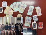 Hà Nội: Bắt quả tang 13 đối tượng tụ tập đánh bạc