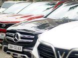 Hà Nội: Cận cảnh 13 siêu xe bị thu giữ trong đường dây đánh bạc hàng chục tỷ đồng