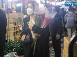 Sát ngày 20/10, chợ hoa lớn nhất Hà Nội không còn cảnh chen chúc như mọi năm