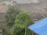 Vụ lở đất nghiêm trọng ở Nhật Bản: 19 người mất tích, nhiều nhà cửa bị cuốn trôi