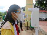 Phát hiện 1 nữ sinh mắc COVID-19, cả huyện nghỉ học ngay sau lễ khai giảng