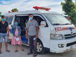 An ninh - Hình sự - Kiên Giang: Phát hiện 2 xe cứu thương chở người từ vùng dịch về quê