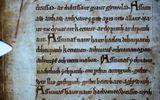 Rùng rợn gương mặt ma quái trên bản thảo thời Trung cổ