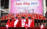Lễ hội Xuân Hồng 2015: Hàng ngàn người tham gia hiến máu trong mưa rét