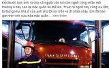 Tâm sự của anh lính cứu hỏa mặc nhầm... quần đùi đi chữa cháy