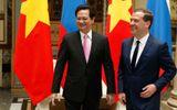 Thủ tướng Nga bày tỏ khen ngợi Việt Nam