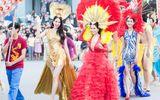 Sương Đặng bay nửa vòng trái đất dự carnaval Quảng Bình