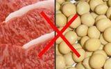 Những thực phẩm cấm kỵ ăn cùng thịt lợn