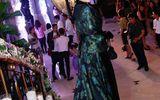 Danh hài Thúy Nga gây chú ý vì mặc váy quá diêm dúa