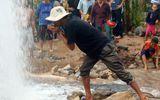 Có thể xảy ra sụt lún ở khu đất giếng nước tự phun cao 20m