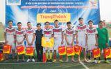 Đội bóng báo ĐS&PL giành giải Nhì cúp Trung Thành