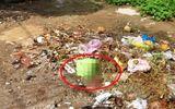 Đau lòng phát hiện xác thai nhi trong đống rác