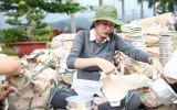 Trang Trần bầu 6 tháng vẫn ra Bắc cứu trợ bà con vùng lũ