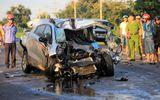 Đâm trực diện xe tải, một cảnh sát giao thông tử vong trên đường đi học
