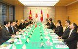 Tổng Bí thư hội đàm với Thủ tướng Nhật Bản Shinzo Abe