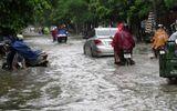 Nhiều tỉnh thành ngập lụt sau cơn mưa lớn ngày 22/9
