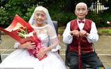 """Chùm ảnh 22 cặp vợ chồng già hạnh phúc trong ngày """"đám cưới vàng"""""""
