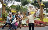 Tết Bính Thân 2016: Đường hoa Nguyễn Huệ tại TP HCM về vị trí cũ
